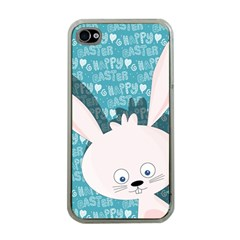 Easter bunny  Apple iPhone 4 Case (Clear)