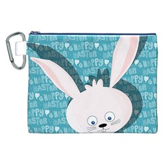 Easter bunny  Canvas Cosmetic Bag (XXL)