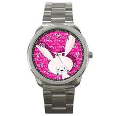 Easter bunny  Sport Metal Watch