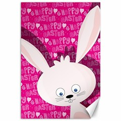 Easter bunny  Canvas 12  x 18