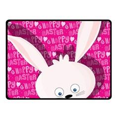 Easter bunny  Fleece Blanket (Small)