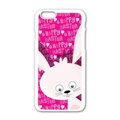 Easter bunny  Apple iPhone 6/6S White Enamel Case
