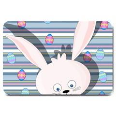 Easter bunny  Large Doormat