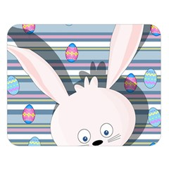 Easter bunny  Double Sided Flano Blanket (Large)