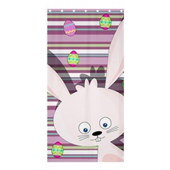 Easter bunny  Shower Curtain 36  x 72  (Stall)