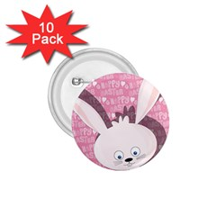 Easter bunny  1.75  Buttons (10 pack)