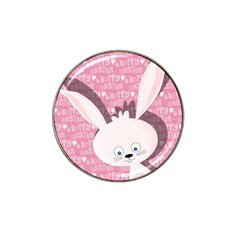 Easter bunny  Hat Clip Ball Marker (10 pack)