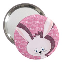 Easter bunny  3  Handbag Mirrors