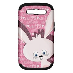 Easter bunny  Samsung Galaxy S III Hardshell Case (PC+Silicone)