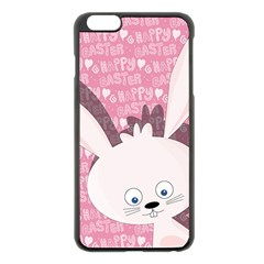 Easter bunny  Apple iPhone 6 Plus/6S Plus Black Enamel Case