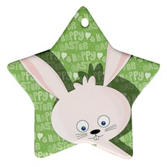 Easter bunny  Ornament (Star)