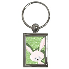 Easter bunny  Key Chains (Rectangle)