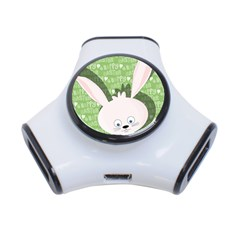 Easter bunny  3-Port USB Hub