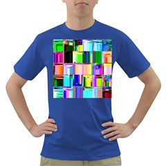 Glitch Art Abstract Dark T-Shirt