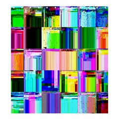 Glitch Art Abstract Shower Curtain 66  x 72  (Large)