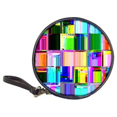 Glitch Art Abstract Classic 20-CD Wallets
