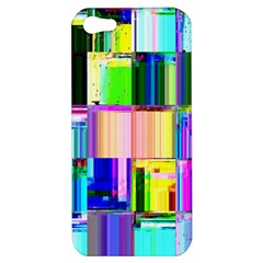 Glitch Art Abstract Apple iPhone 5 Hardshell Case