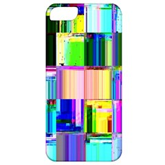 Glitch Art Abstract Apple iPhone 5 Classic Hardshell Case