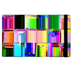 Glitch Art Abstract Apple iPad 3/4 Flip Case