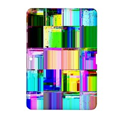 Glitch Art Abstract Samsung Galaxy Tab 2 (10 1 ) P5100 Hardshell Case