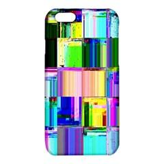 Glitch Art Abstract iPhone 6/6S TPU Case