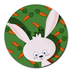 Easter bunny  Round Mousepads