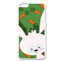 Easter bunny  Apple iPhone 6 Plus/6S Plus Enamel White Case