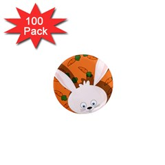 Easter bunny  1  Mini Magnets (100 pack)