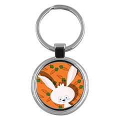 Easter bunny  Key Chains (Round)