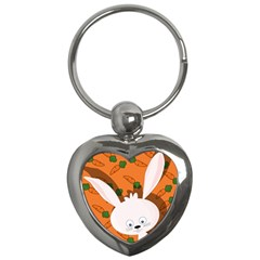 Easter bunny  Key Chains (Heart)