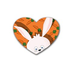 Easter bunny  Heart Coaster (4 pack)