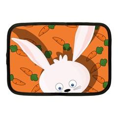 Easter bunny  Netbook Case (Medium)