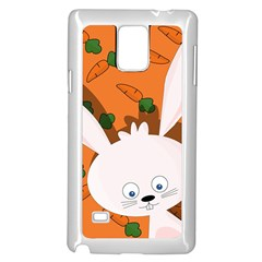 Easter bunny  Samsung Galaxy Note 4 Case (White)