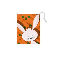 Easter bunny  Drawstring Pouches (XS)