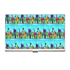 Colourful Street A Completely Seamless Tile Able Design Business Card Holders