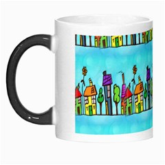 Colourful Street A Completely Seamless Tile Able Design Morph Mugs