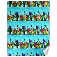 Colourful Street A Completely Seamless Tile Able Design Canvas 18  X 24