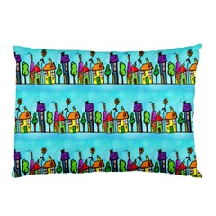 Colourful Street A Completely Seamless Tile Able Design Pillow Case