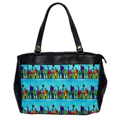 Colourful Street A Completely Seamless Tile Able Design Office Handbags