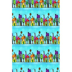 Colourful Street A Completely Seamless Tile Able Design 5.5  x 8.5  Notebooks
