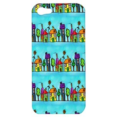 Colourful Street A Completely Seamless Tile Able Design Apple iPhone 5 Hardshell Case
