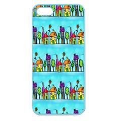 Colourful Street A Completely Seamless Tile Able Design Apple Seamless iPhone 5 Case (Color)