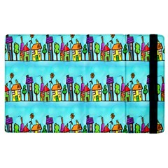 Colourful Street A Completely Seamless Tile Able Design Apple iPad 3/4 Flip Case