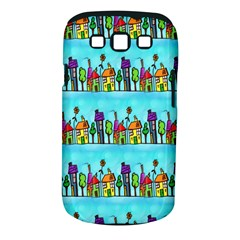 Colourful Street A Completely Seamless Tile Able Design Samsung Galaxy S Iii Classic Hardshell Case (pc+silicone)