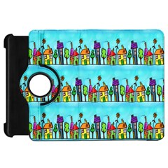 Colourful Street A Completely Seamless Tile Able Design Kindle Fire Hd 7