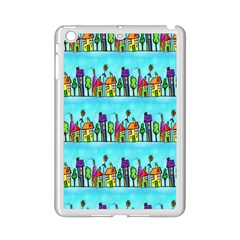 Colourful Street A Completely Seamless Tile Able Design iPad Mini 2 Enamel Coated Cases