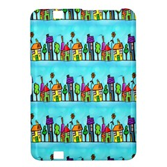 Colourful Street A Completely Seamless Tile Able Design Kindle Fire Hd 8 9