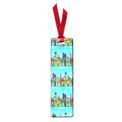 Colourful Street A Completely Seamless Tile Able Design Small Book Marks