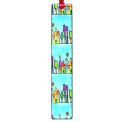Colourful Street A Completely Seamless Tile Able Design Large Book Marks