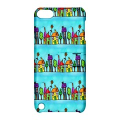 Colourful Street A Completely Seamless Tile Able Design Apple iPod Touch 5 Hardshell Case with Stand